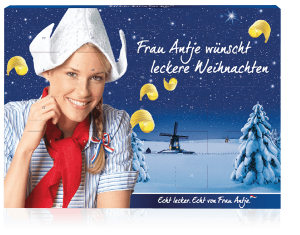 "Der Wand-Adventskalender Business Exklusiv ""Frau Antje"""