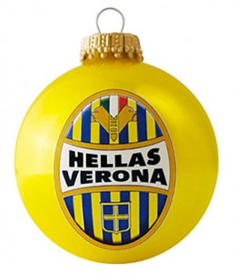 "Christbaumkugel ""HELLAS VERONA"" mit Tampondruck"