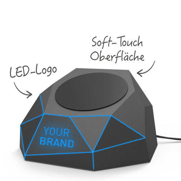 Werbeartikel-GEO-WIRELESS-CHARGER-led-logo